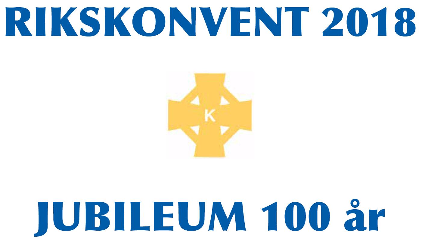 Rikskonvent 2018, Jubileum 100 år